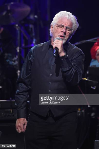 Michael McDonald performs onstage during 'Love Rocks NYC A Change is Gonna Come Celebrating Songs of Peace Love and Hope' A Benefit Concert for God's...