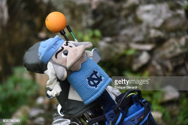 Michael McGowan of the United States' golf bag during the third round of the PGA TOUR Latinoamerica BMW Jamaica Classic at Cinnamon Hill Golf Course...