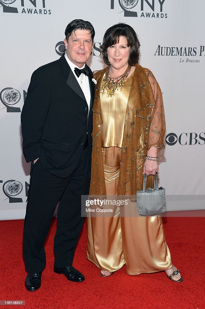 Michael McGraw and Toni McGraw attend the 66th Annual Tony Awards at The Beacon Theatre on June 10, 2012 in New York City.