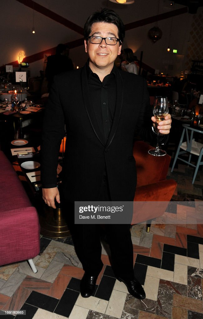 Michael McIntyre attends a private dinner hosted by Sir Paul Smith, Tinie Tempah and GQ editor Dylan Jones to celebrate London Collections: MEN AW13 at the Martin Creed Gallery Restaurant at Sketch on January 9, 2013 in London, England.