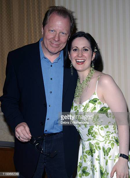 Michael McKean and Stephanie D'Abruzzo during The First Annual 'Show People' Tony Awards Party at Gotham Hall in New York City New York United States