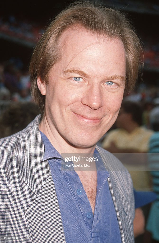 Michael McKean during Hollywood All-Star Game at Dodger Stadium in Los Angeles, California, United States.