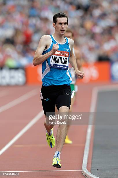 Michael McKillop of Ireland competes in the Men's T36/37 800mduring day three of the Sainsbury's Anniversary Games IAAF Diamond League 2013 at The...
