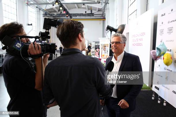 Michael Medweth attends the 3D Fashion Presented By Lexus/Voxelworld show during Platform Fashion July 2017 at Areal Boehler on July 22 2017 in...
