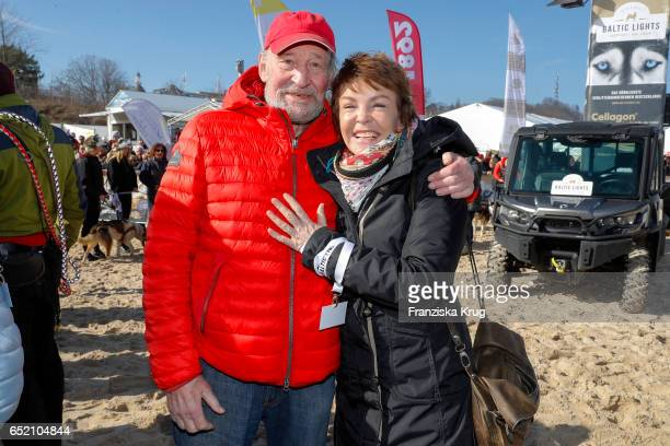 Michael Mendl and Katrin Sass during the 'Baltic Lights' charity event on March 11 2017 in Heringsdorf Germany Every year German actor Till Demtroder...