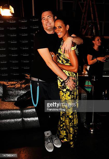 Michael Michalsky and Barbara Becker attend the Michalsky Style Nite 2012 party during the MercedesBenz Fashion Week Spring/Summer 2013 on July 6...