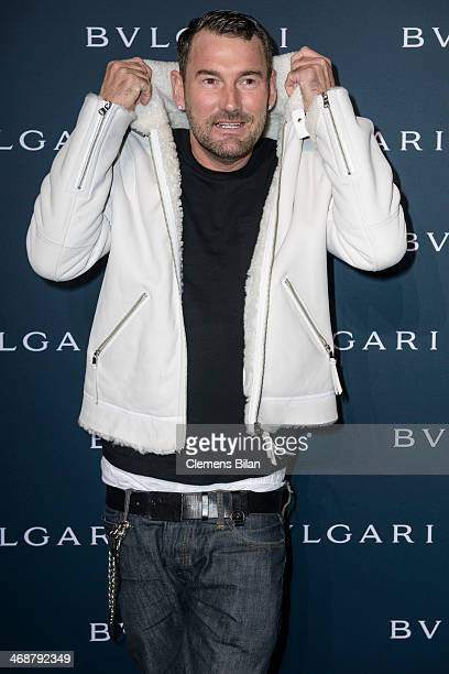 Michael Michalsky attends the 130 years of glam culture party by Bulgari at Kaufhaus Jandorf on February 11 2014 in Berlin Germany