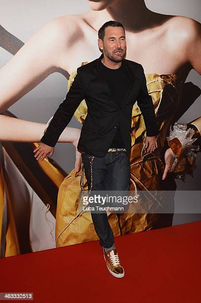 Michael Michalsky poses after his show at the Michalsky Style Night during MercedesBenz Fashion Week Autumn/Winter 2014/15 at Tempodrom on January 17...