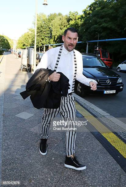 Michael Michalsky sighted outside the Michalsky Style Night at Tempodrom on July 11 2014 in Berlin Germany