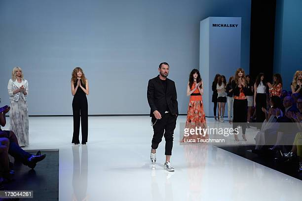 Michael Michalsky walks the runway after the Michalsky Stylenite 2014 at Tempodrom on July 5 2013 in Berlin Germany
