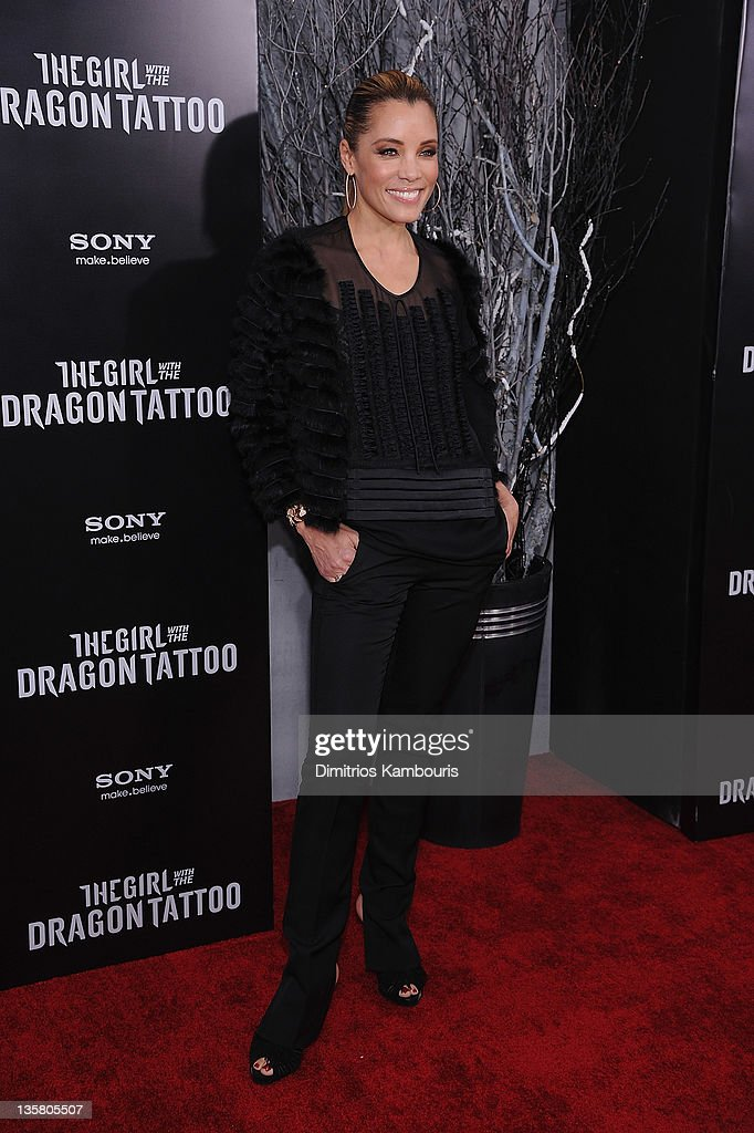 Michael Michele attends the 'The Girl With the Dragon Tattoo' New York premiere at Ziegfeld Theater on December 14, 2011 in New York City.