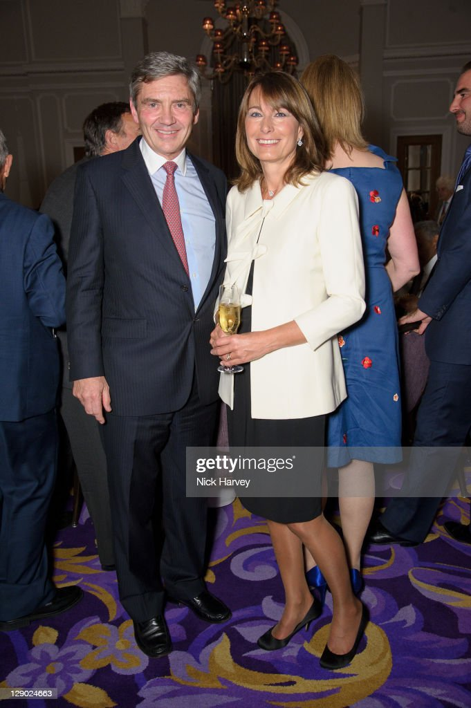 Michael Middleton and Carole Middleton attend The British Red Cross International Fundraising Committee Evening at Corinthia Hotel London on October 10, 2011 in London, England.