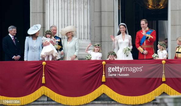 Michael Middleton Carole Middleton Eliza Lopes Prince Charles Prince of Wales Camilla Duchess of Cornwall and Lady Louise Windsor Grace Van Cutsem...