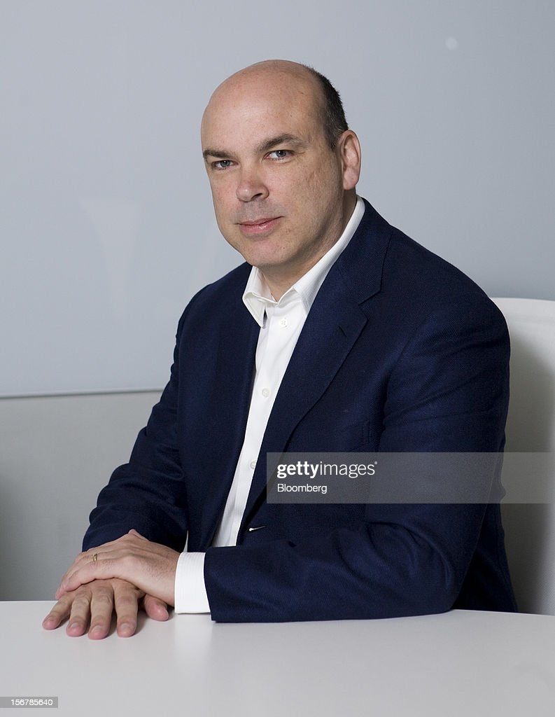 Michael 'Mike' Lynch, chief executive officer of Autonomy Corp., poses for a photograph following an interview in London, U.K., on Wednesday, Feb. 3, 2010. Hewlett-Packard Co., which bought Lynch's company last year for $10.3 billion, yesterday took an $8.8 billion writedown and said some former members of Cambridge, England-based Autonomy's management team used accounting improprieties, misrepresentations and disclosure failures to inflate the company's value prior to the deal. Photographer: Chris Ratcliffe/Bloomberg via Getty Images