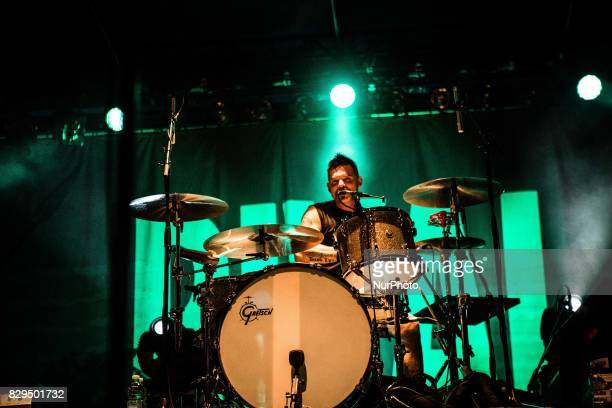 Michael Miley of the american blues rock band Rival Sons performing live at Carroponte Milan Italy