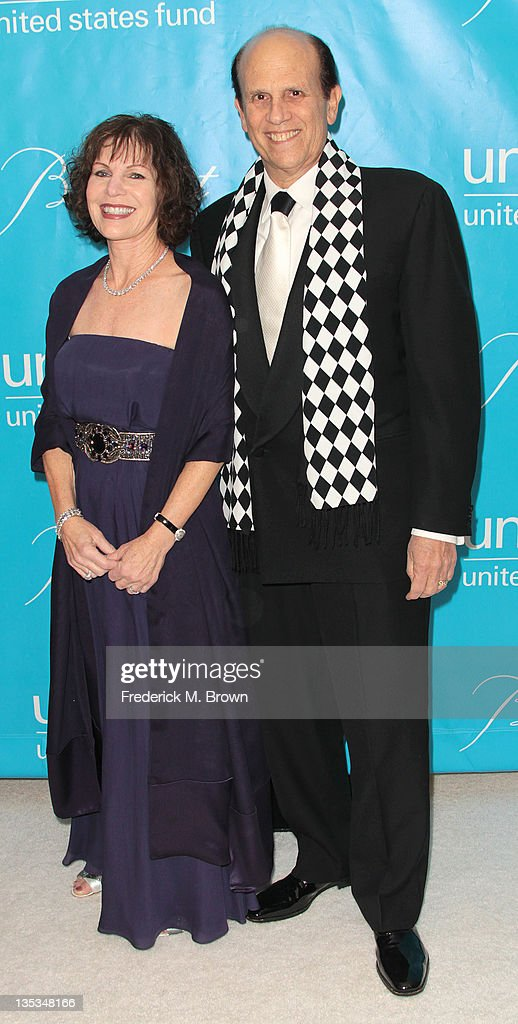<a gi-track='captionPersonalityLinkClicked' href=/galleries/search?phrase=Michael+Milken&family=editorial&specificpeople=262741 ng-click='$event.stopPropagation()'>Michael Milken</a> (R) and his guest attend The 2011 Unicef Ball at The Beverly Wilshire Hotel on December 8, 2011 in Beverly Hills, California
