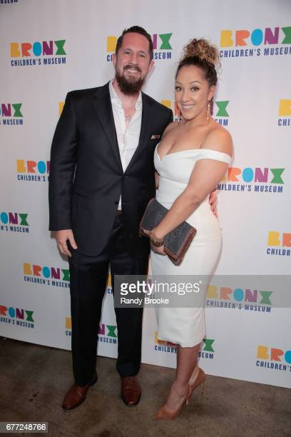 Michael Milligan and Amanda Collado attends the 2017 The Bronx Children's Museum Gala at Tribeca Rooftop on May 2 2017 in New York City