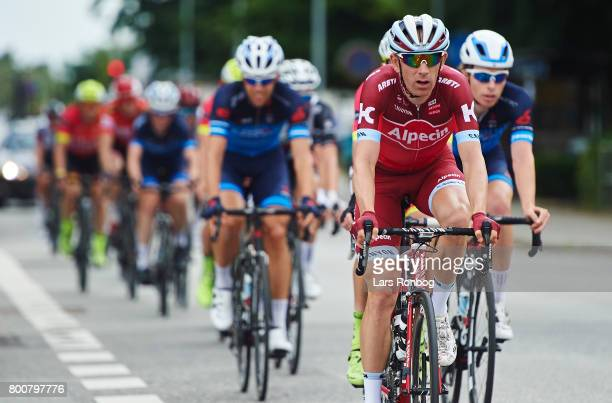 Michael Morkov of Team KATUSHA ALPECIN in action during the Elite Mens Road Race in the Danish Road Cycling Championships on June 25 2017 in...