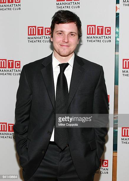Michael Mosley attends the opening night celebration of Manhattan Theatre Club's 'Back Back Back' at Mickey Mantle's on November 18 2008 in New York...