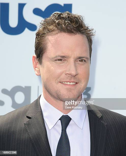 Michael Mosley attends USA Network 2013 Upfront Event at Pier 36 on May 16 2013 in New York City