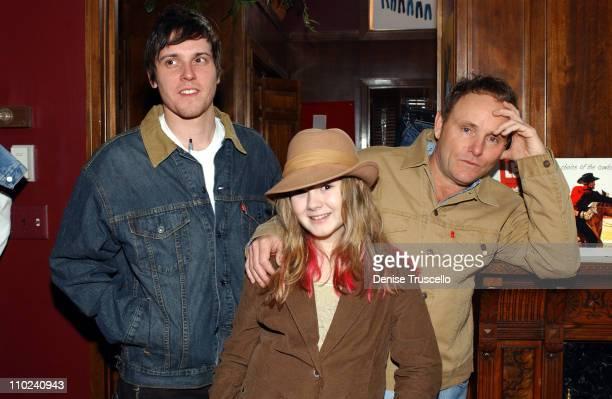 Michael Mosley Tara Gallagher and Robert Knott at Levi's Ranch