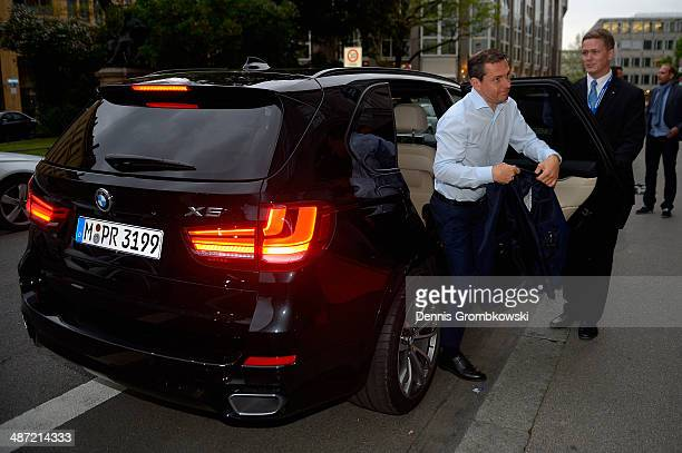 Michael Mronz attends the BMW Players Night at Rilano No 6 on April 28 2014 in Munich Germany