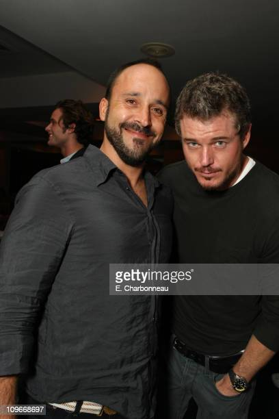 Michael Muller and Eric Dane at Donovan Leitch's 40th Birthday Party hosted by Hpnotiq held at The Muholland Tennis Club on August 16 2007 in Los...