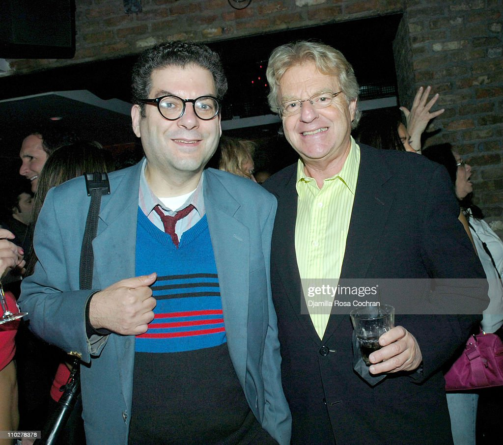Jerry Springer Hosts Reception to Celebrate 3,000th Episode of the Jerry Springer Show