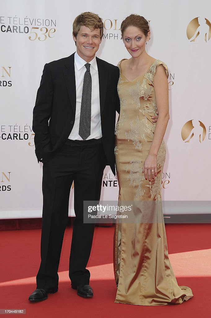 Michael Nardelli and Charlotte Milchard attend the closing ceremony of the 53rd Monte Carlo TV Festival on June 13, 2013 in Monte-Carlo, Monaco.
