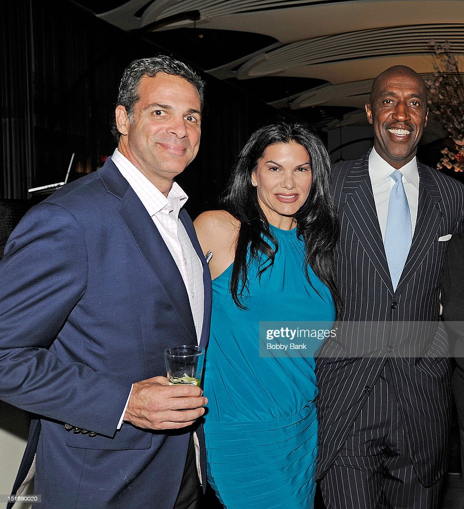 Michael Needleman, MJ Pedone and Trent Tucker attend The Trent Tucker Celebrity Gala presented by the All 4 Kids Foundation and The Max Cure Foundation at STK on September 9, 2012 in New York, New York.