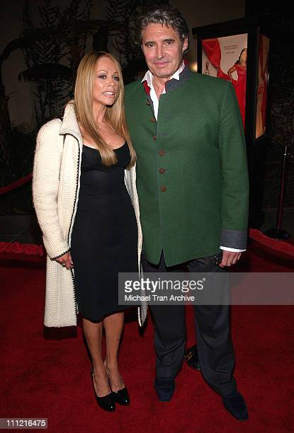 Michael Nouri and Christina Parker during 'Last Holiday' Los Angeles Premiere Arrivals at Cinerama Dome in Hollywood California United States