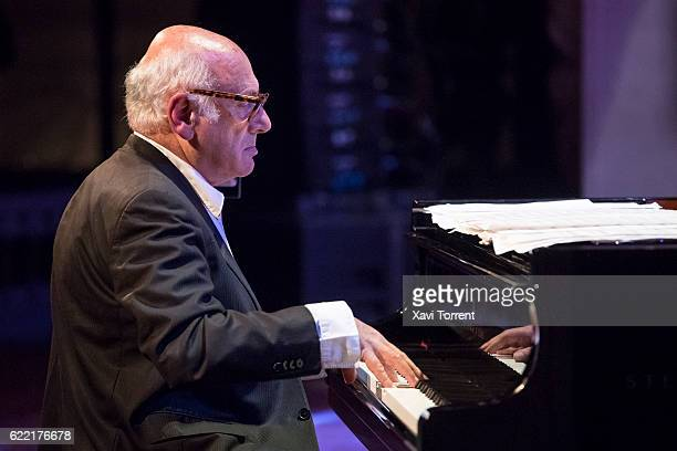 Michael Nyman performs on stage at Palau de la Musica Catalana during the 48 VollDamm Festival Internacional de Jazz de Barcelona on November 10 2016...