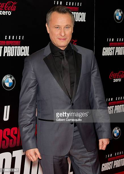 Michael Nyqvist attends the 'Mission Impossible Ghost Protocol' US premiere at the Ziegfeld Theatre on December 19 2011 in New York City