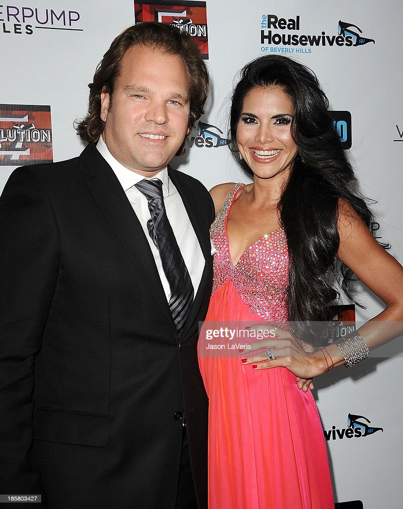 Michael Ohoven and Joyce Giraud de Ohoven attend the 'The Real Housewives of Beverly Hills' and 'Vanderpump Rules' premiere party at Boulevard3 on October 23, 2013 in Hollywood, California.