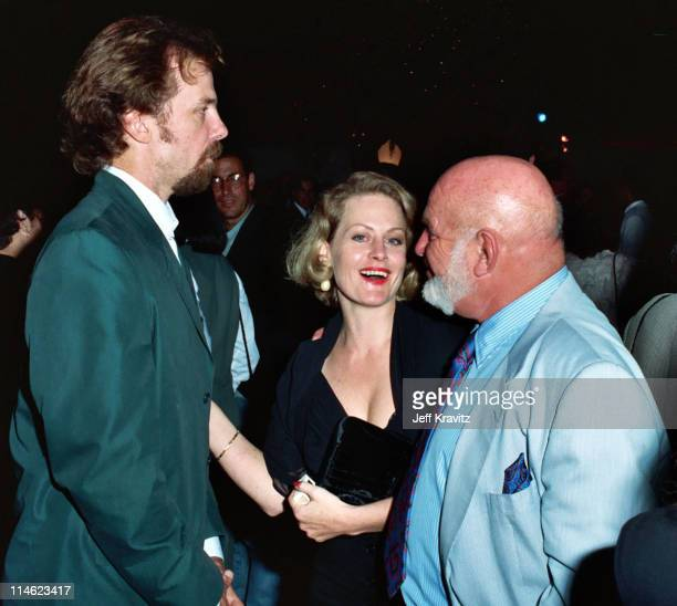 Michael O'Keefe Beverly D'Angelo and John Schlesinger