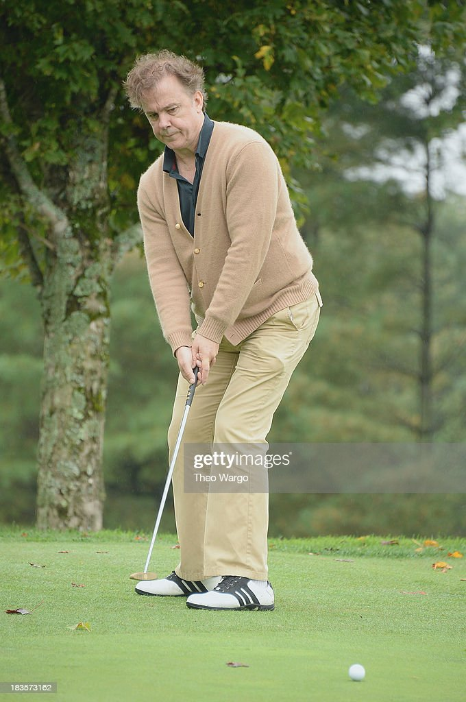 Michael O'Keefe plays a round of golf at the Screen Actors Guild Foundation Inaugural New York Golf Classic at Trump National Golf Club Westchester on October 7, 2013 in Briarcliff Manor, New York.