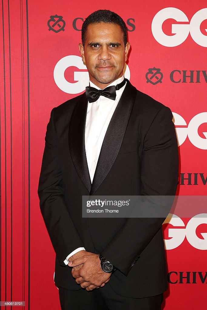 Michael O'Loughlin arrives at the GQ Men of the Year awards at the Ivy Ballroom on November 19, 2013 in Sydney, Australia.