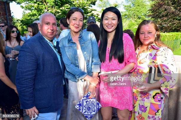 Michael O'Neal Heidi LeeKomaroni Mary Chan and Susan BurkeO'Neal attend Maison Gerard Presents Marino di Teana A Lifetime of Passion and Expression...