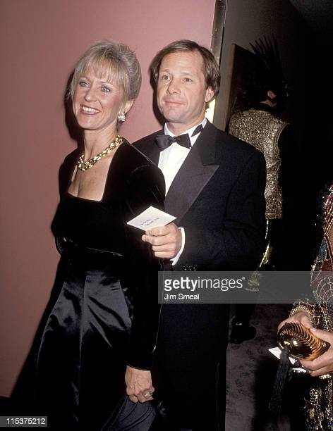Michael Ovitz and Judy Ovitz during 1990 Carousel of Hope Ball at Beverly Hilton Hotel in Beverly Hills California United States