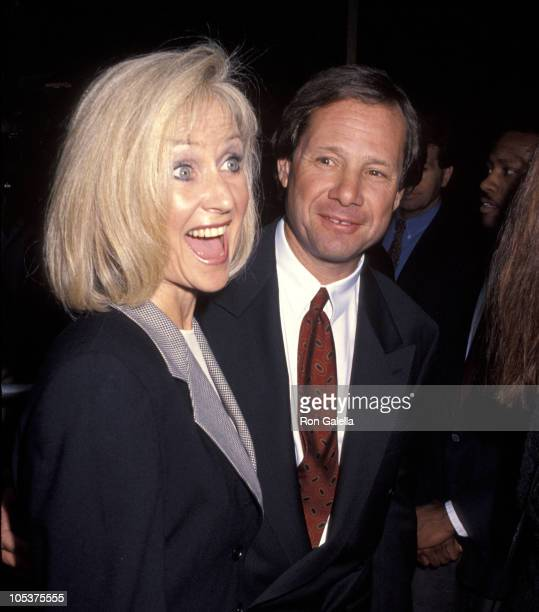 Michael Ovitz and Judy Ovitz during 'Patriot Games' Los Angeles Premiere at Academy Theater in Beverly Hills California United States