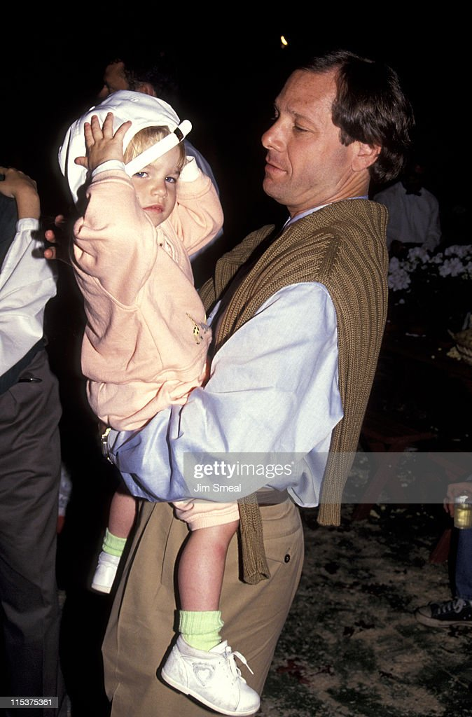 Michael Ovitz and kid during Opening of Universal Studios New ET Adventures Ride at Universal Studios in Universal City California United States