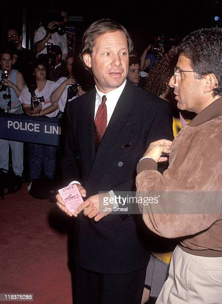 Michael Ovitz during 'A League of Their Own' Screening to Benefit New York Women in Film at Ziegfeld Theater in New York City New York United States