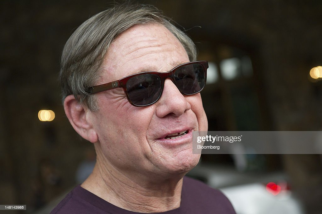 Michael Ovitz, former principal of the Artists Management Group, arrives at the Allen & Co. Media and Technology Conference in Sun Valley, Idaho, U.S., on Tuesday, July 10, 2012. Media executives gathering at Allen & Co.'s conference this week will look for opportunities to capitalize on an entertainment environment shaped by the shift toward mobile and online viewing. Photographer: David Paul Morris/Bloomberg via Getty Images