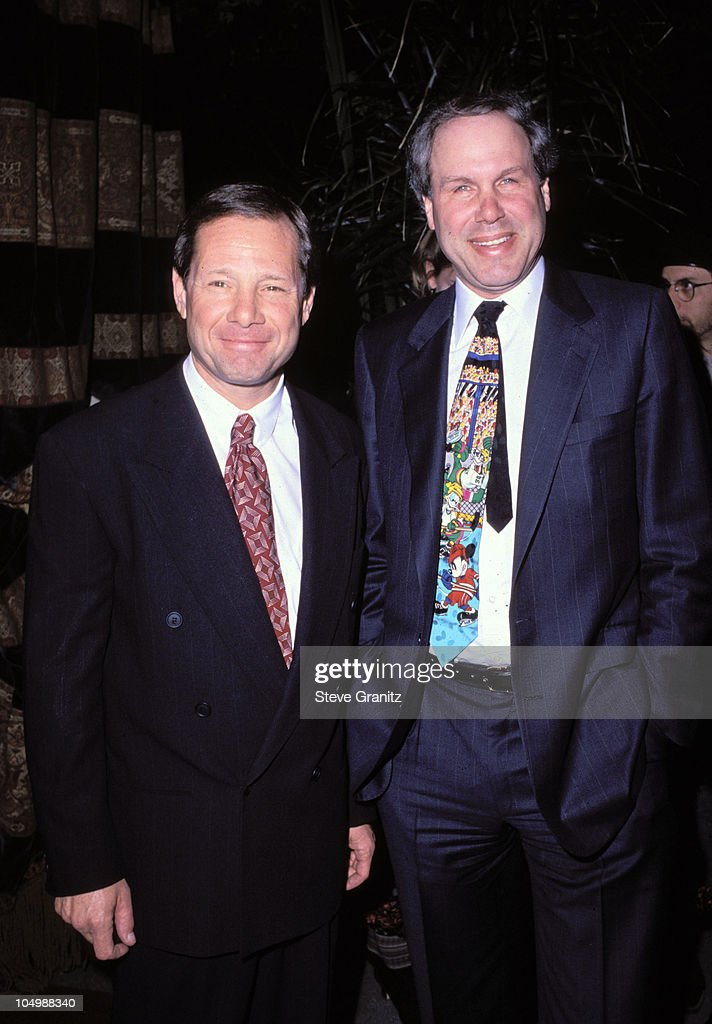 Michael Ovitz Michael Eisner during New YorkerTina Brown All Movie Issue Party at BelAir Hotel in BelAir California United States