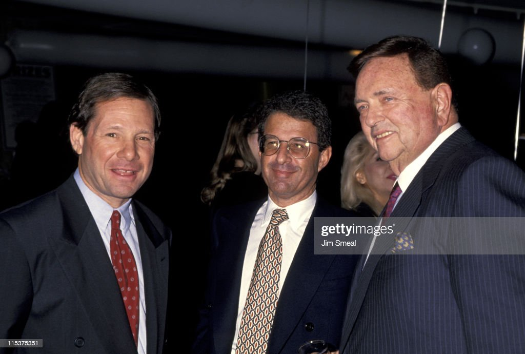 Michael Ovitz Ron Meyer and Marvin Davis during Entertainment Industry Salute Benefitting March of Dimes at Century Plaza in Century City California...