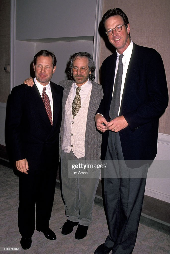 Michael Ovitz Steven Spielberg and Michael Crichton
