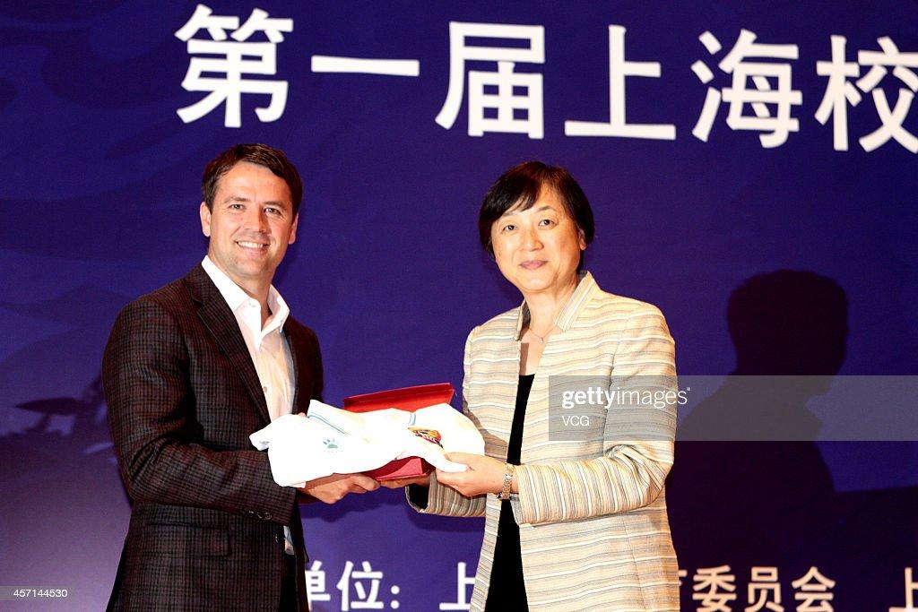 Michael Owen Visits Shanghai