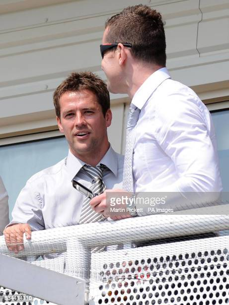 Michael Owen during the totesportcom Chester Cup Day meeting at Chester Racecourse