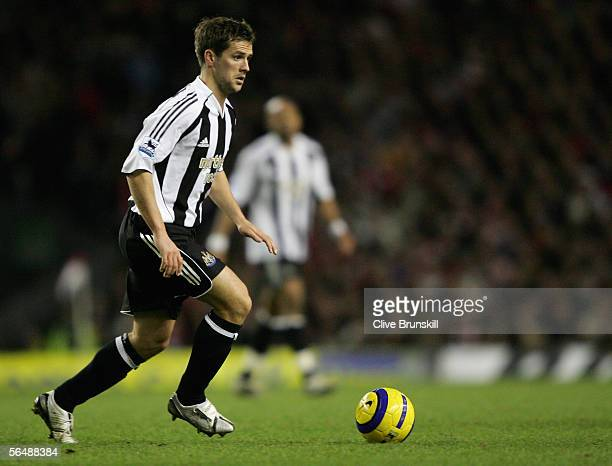 Michael Owen of Newcastle United in action during the Barclays Premiership match between Liverpool and Newcastle United at Anfield on December 26...