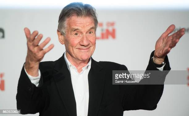 Michael Palin arriving at 'The Death Of Stalin' UK Premiere held at Bluebird on October 17 2017 in London England